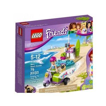 41306 le scooter de plage de mia lego r friends 0117 41306 vente de lego conforama. Black Bedroom Furniture Sets. Home Design Ideas