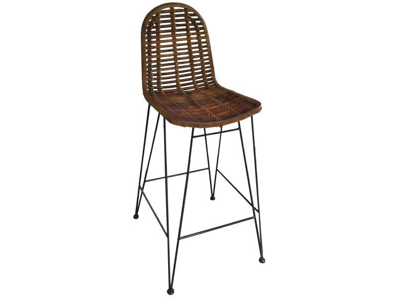 chaise haute en rotin vintage boho wicker high chair chaise haute vintage rotin boheme free. Black Bedroom Furniture Sets. Home Design Ideas