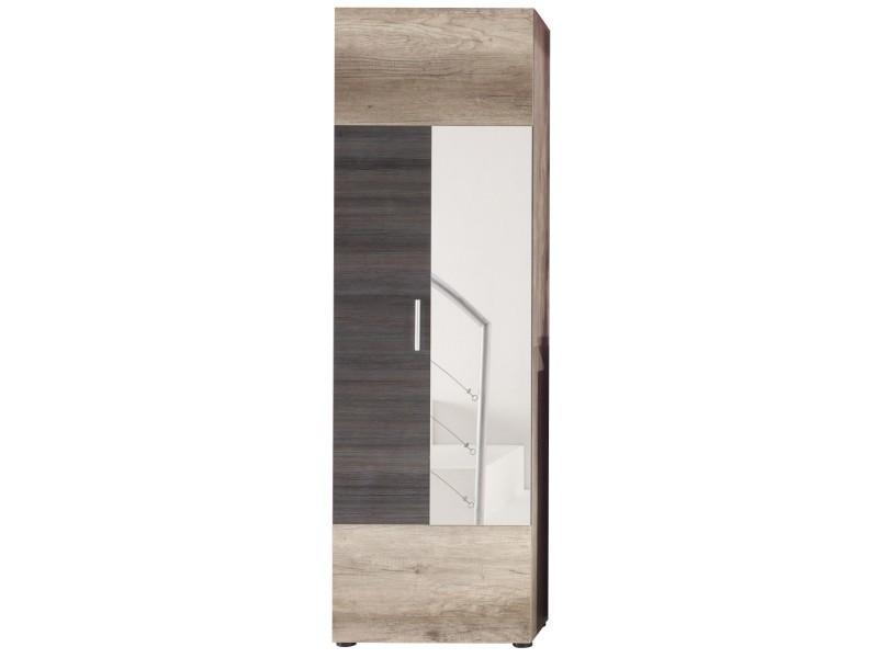 armoire 1 porte pour hall d 39 entr e conforama. Black Bedroom Furniture Sets. Home Design Ideas