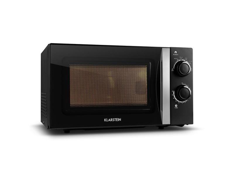 Klarstein mywave four micro onde 20l 700w minuterie -noir