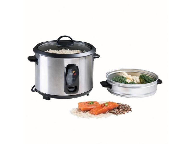 Domoclip doc192 cuiseur a riz - noir/gris DOM3523930089794
