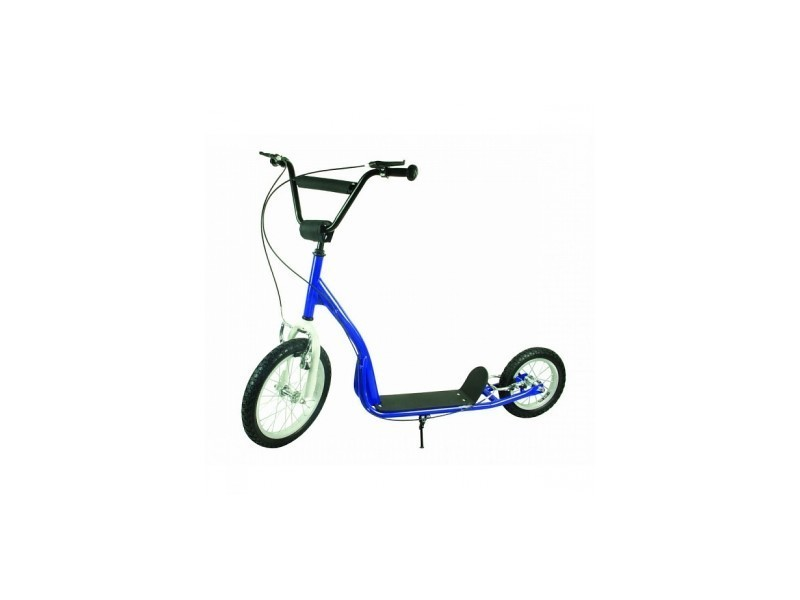 Trottinette pro acro air 16'' 12'' blanc bleu TPA-2 - Vente