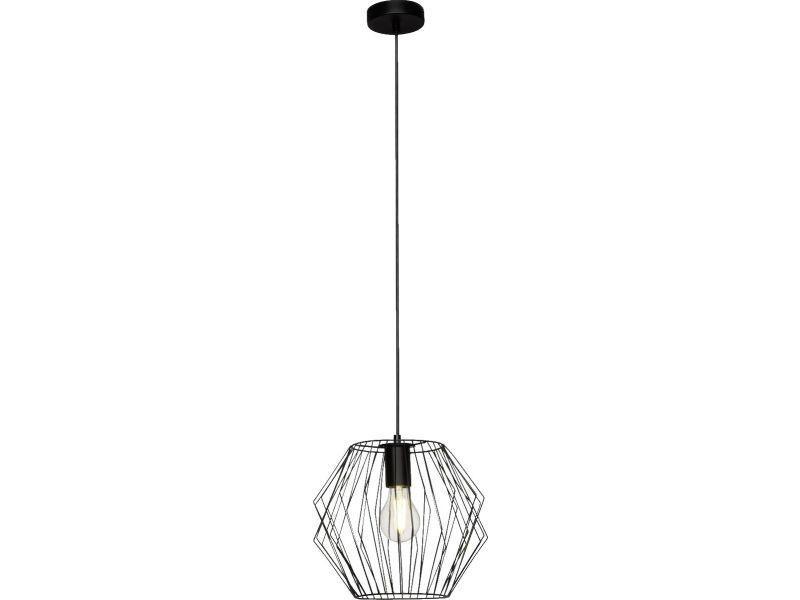 Vente De Luminaire En Design Filaire Noire Métal Suspension Noris Nw8vm0On