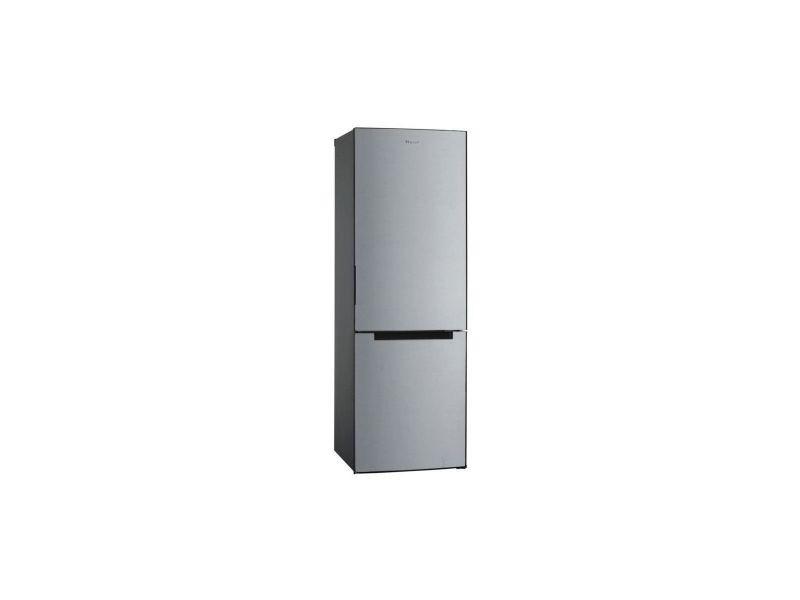 Haier hbm-686s - refrigerateur combine - 312l 223 + 89 - a+ - l 6 cm x h 185 cm - silver HAI8056736880159