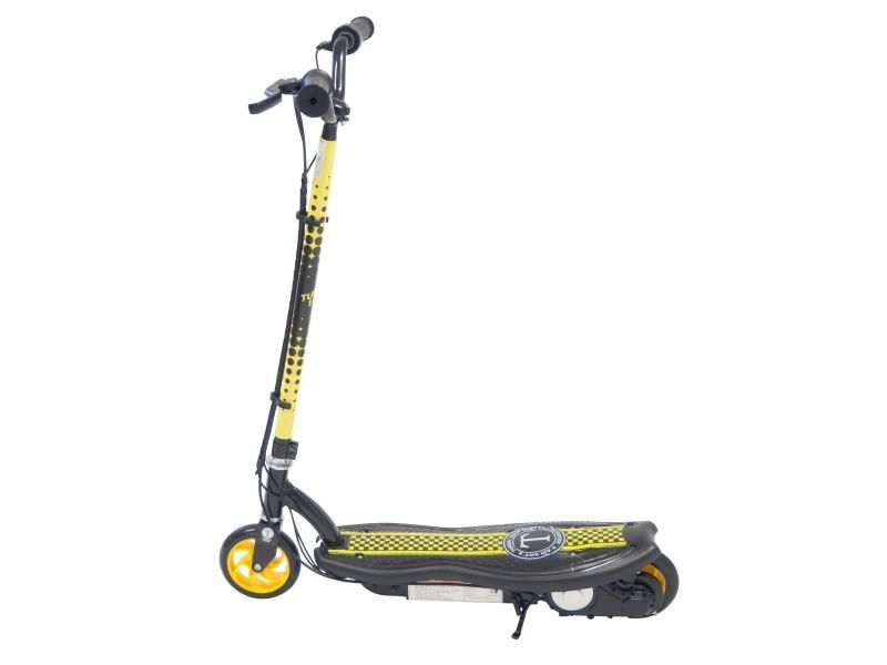 Trottinette électrique 120w / 24v jaune et noir