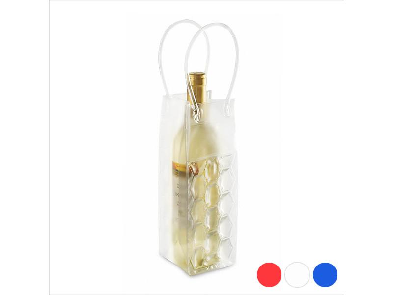 Oenologie splendide couleur rouge refroidisseur de bouteilles pvc 144232