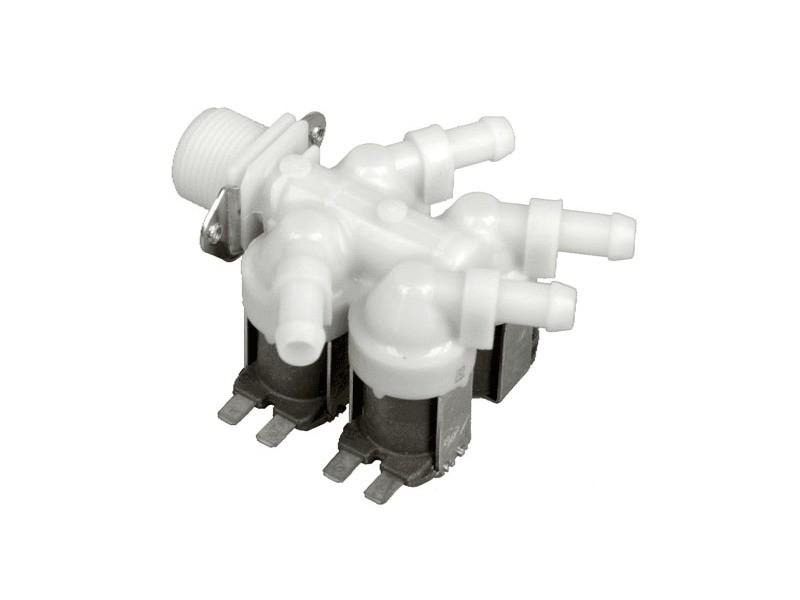 Electrovanne 3/4pou. 4x16l/min 20/240v pour lave linge miele - 3213931