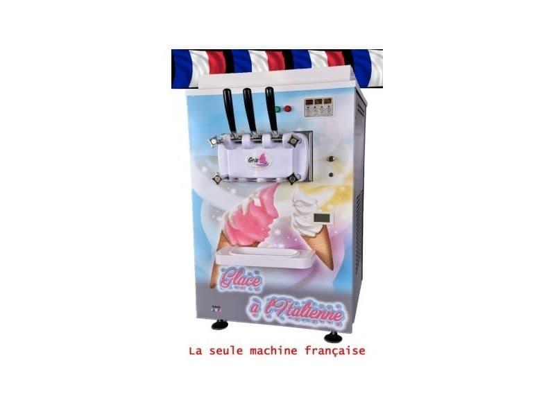 Machine a glace italienne - 2 parfums et 1 mix
