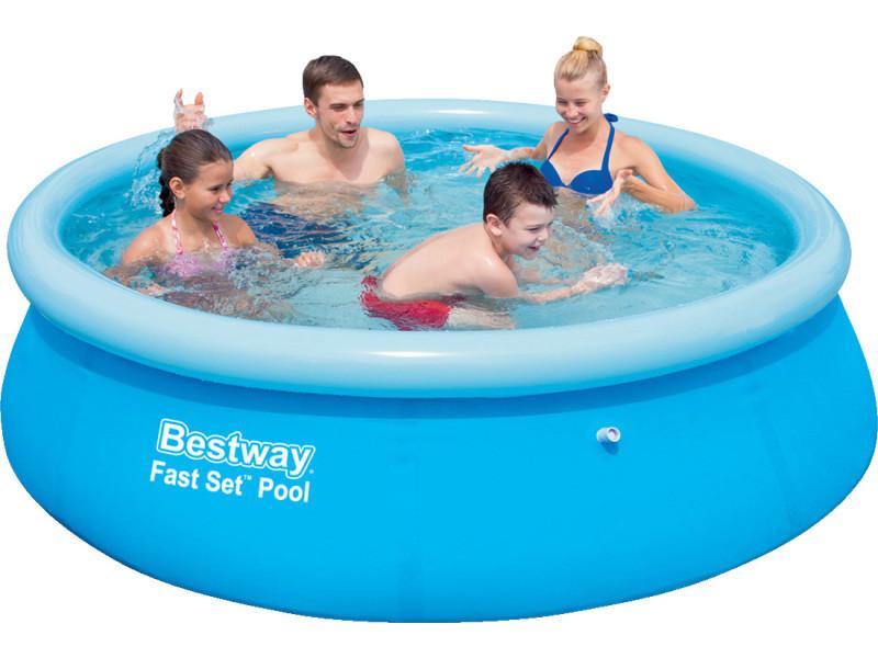 Piscine autoportante ronde x vente de for Conforama piscine hors sol