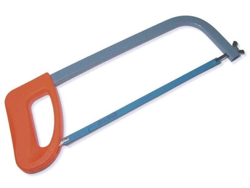 Scie à métaux à main avec lame 300 mm poignée en plastique usage général helloshop26 3417147