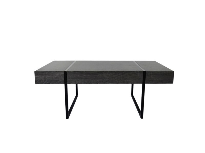 table basse oslo bois noir vintage vente de ego design conforama. Black Bedroom Furniture Sets. Home Design Ideas