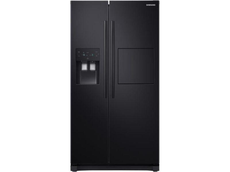 Réfrigérateur américain 501l froid ventilé samsung 91cm a+, samrs50n3803bc SAMRS50N3803BC