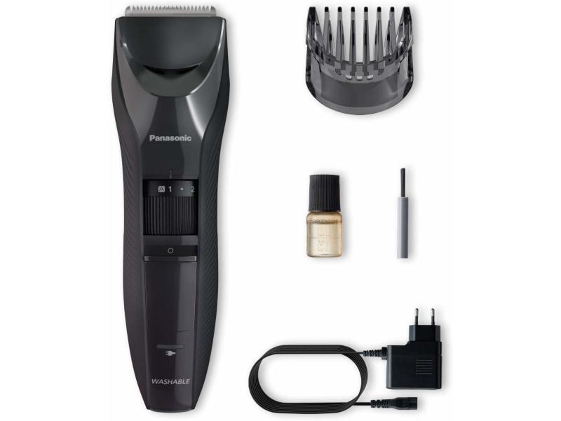 Tondeuse cheveux et barbe 19 hauteurs de coupe 0,5 a 10mm auton 40mn panasonic - ergc53k503 3785