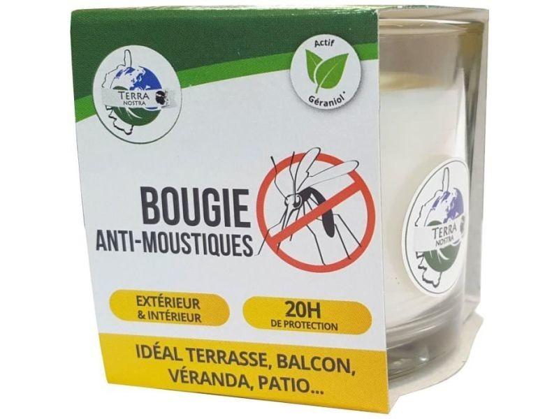 Repulsif nuisibles pour le jardin - laser nuisibles pour le jardin - ultrasons nuisibles pour le jardin - effaroucheur kit anti-moustiques n°1 - bougie, spray 50 ml & gel apaisant