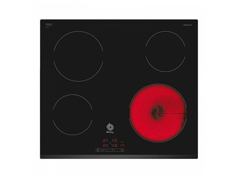 Plaques vitro-céramiques à 4 zones de cuisson 60 cm