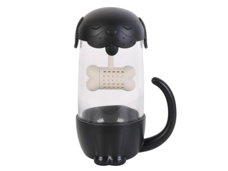 Tasse et infuseur à thé chien