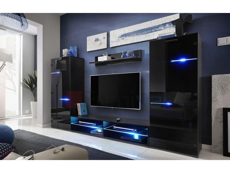 Ensemble meuble tv design led