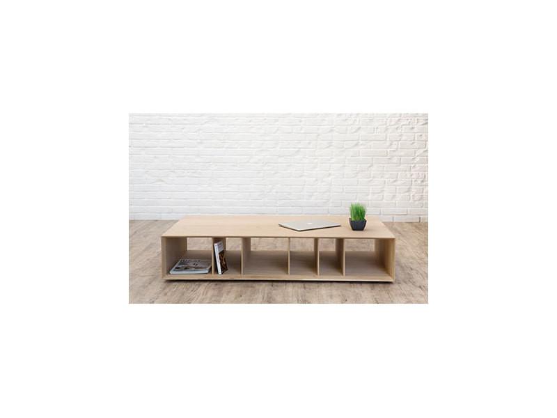 Table basse en chêne massif - bradley