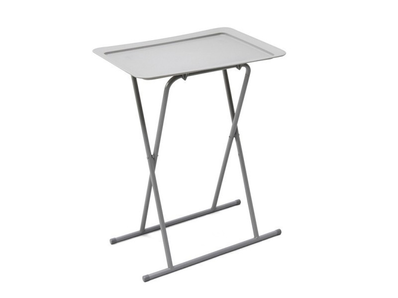 table basse pliable pure design breakfast gris vente. Black Bedroom Furniture Sets. Home Design Ideas