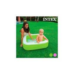 Piscine gonflable carrée pour enfants intex