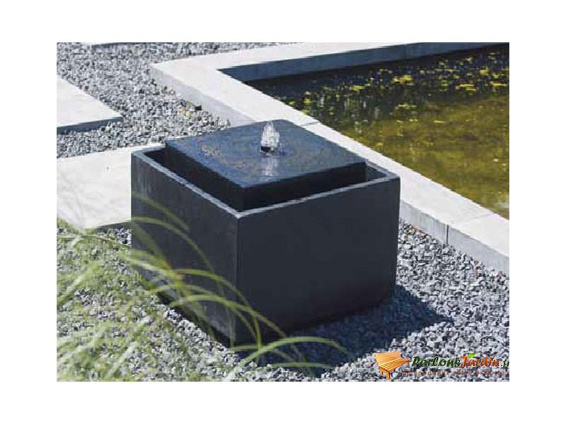 Fontaine de jardin en terrazzo aquaarte sonora led - Vente de ...