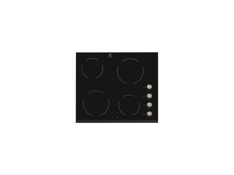Table de cuisson vitrocéramique - largeur (mm): 590 - 4 foyers hi-light - bandeau