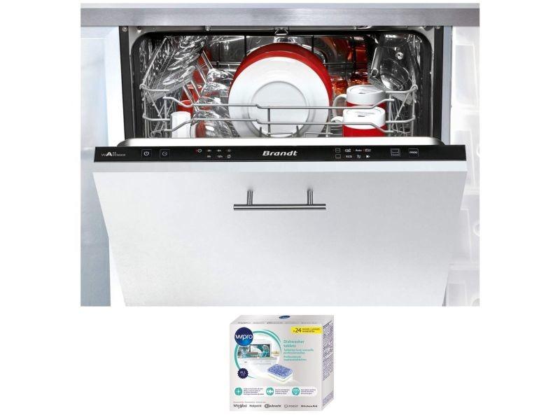 Lave-vaisselle tout integrable encastrable 44db a++ 14 couverts 60cm 6 programmes