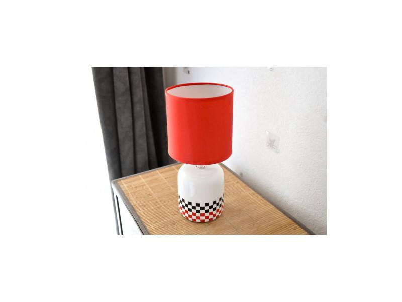 Rouge De À Cylindre L'abat Marque Vente Lampe Jour Sans Interior wiOkTlPZuX