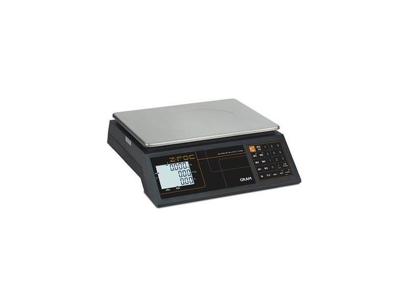 Balance de cuisine électronique 15 kg zfoc-15 rs - gram - inox15