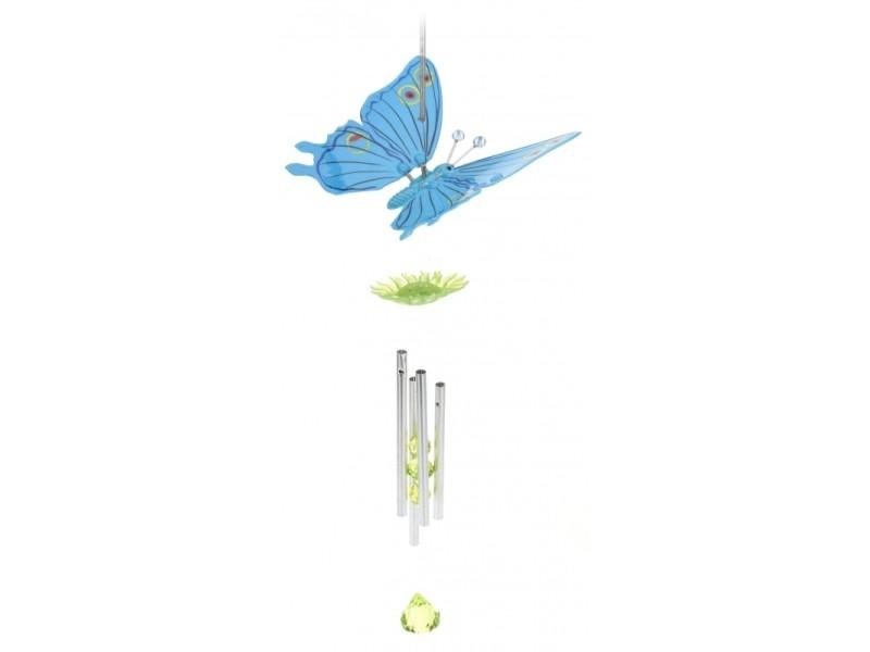 Carillon - papillon - coloris aléatoire