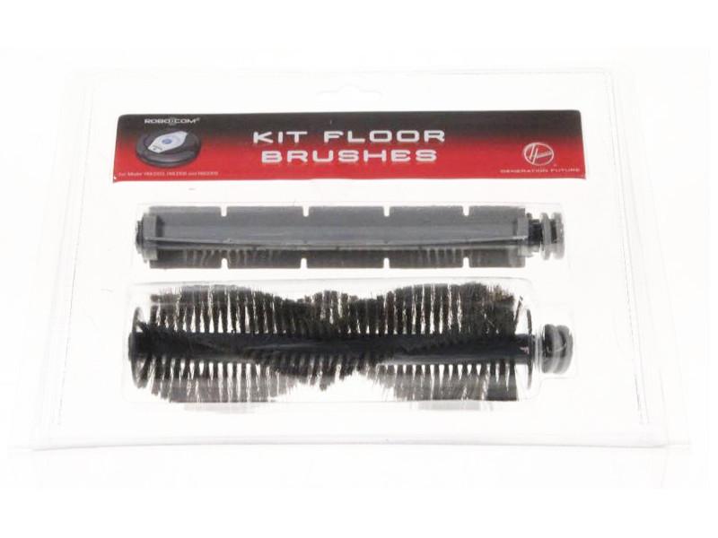 Kit brosses robot rbc003 rbc006 rbc009 pour pieces aspirateur nettoyeur petit electromenager hoover 35601255