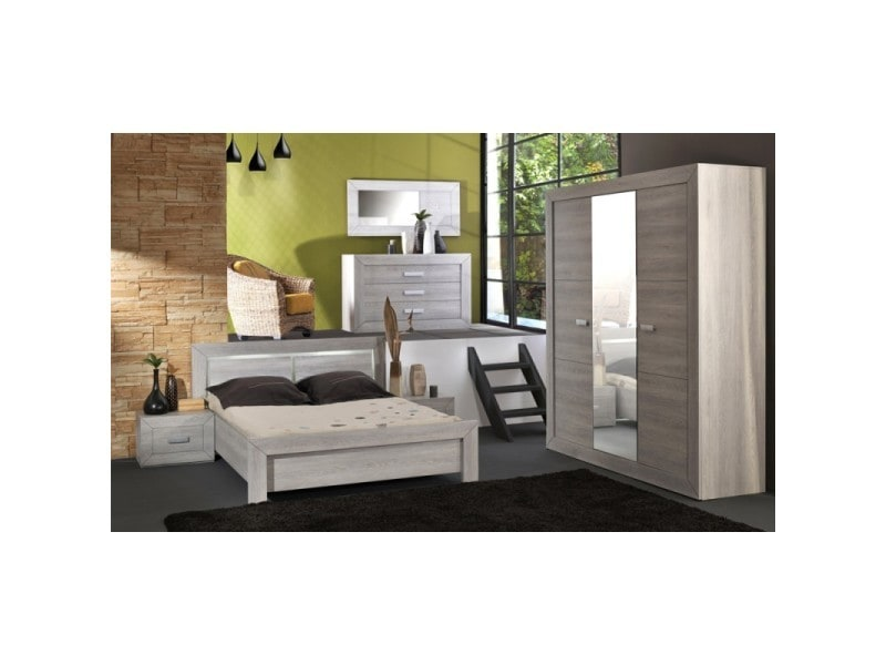 Chambre a coucher complete conforama beautiful habitat et for Conforama chambres adultes