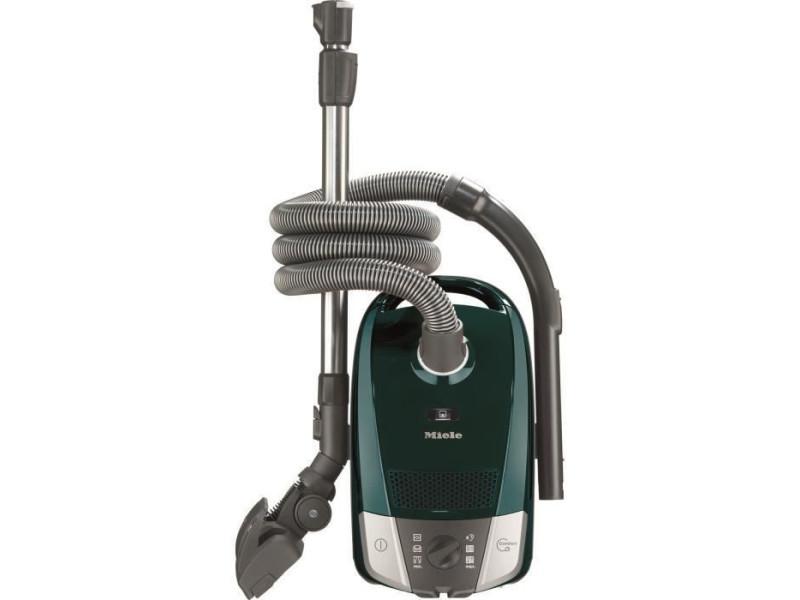 Miele compact c2 excellence - aspirateur traineau - 550 w - a+ - 72 db - 3 accessoires clipsés - pétrole