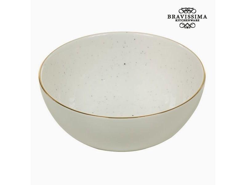 Bol en porcelaine 300 ml blanc - bol petit dejeuné design