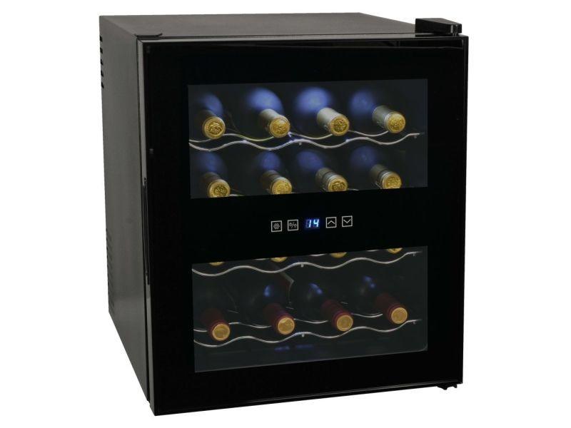 Moderne électroménager de cuisine gamme abuja frigo à vin 48 l 16 bouteilles affichage lcd