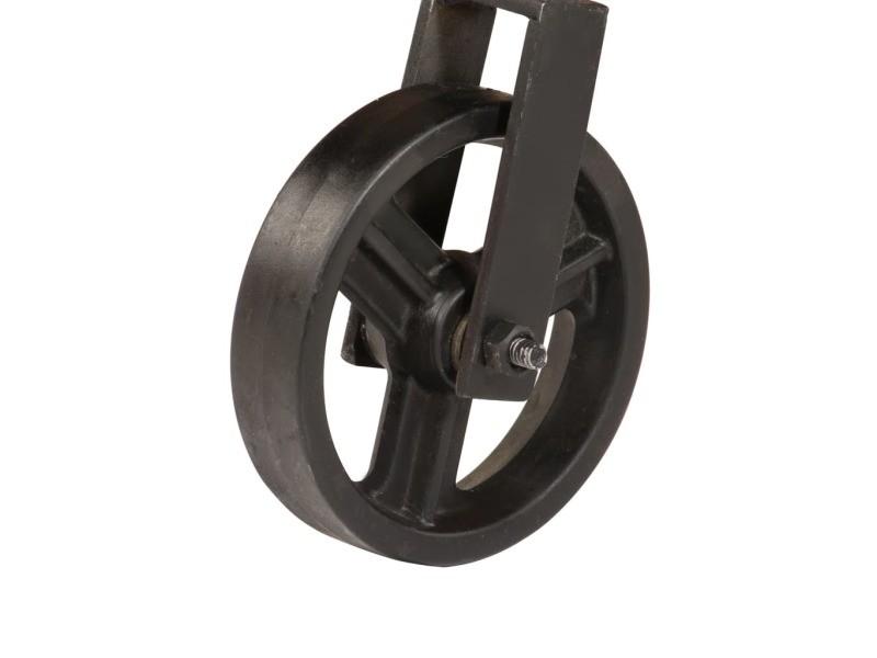 de roulettes table massif basse Vidaxl avec bois manguier shdCxBQtro