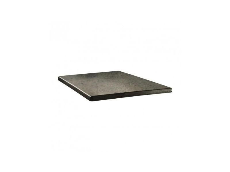 line Plateau 80 80 beton carré de Vente table x de LUqSzVMpjG