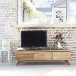Meuble tv en bois de mindy 150 oslo