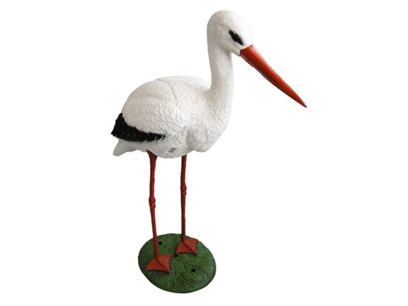 Contemporain décorations selection berne figure animale cigogne ubbink 1382501