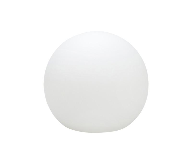 Boule lumineuse ball (d35cm) en polyéthylène blanc