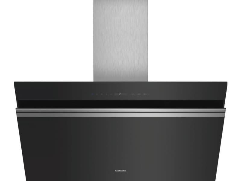 Hotte décorative inclinée 90cm 950m3/h noir - lc91kww60 lc91kww60