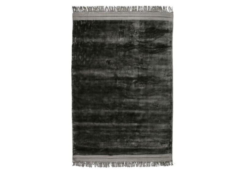 Ravel - tapis en velours gris anthracite - couleur - gris anthracite, dimensions - 170x240 cm 800192-A