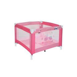 Parc bébé pliant / parc pliable pour bébé play rose