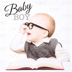Toile imprimée bébé fun - 28 x 28 cm - garçon