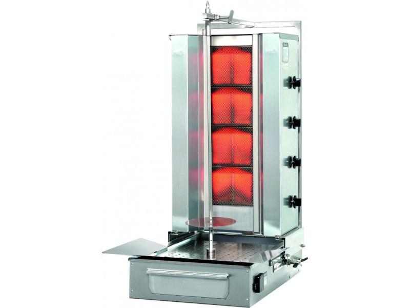 Döner kebab à gaz professionnel 70 kg - stalgast -