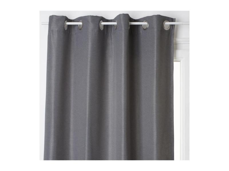 Atmosphera - rideau occultant gris foncé 140 x 260 cm