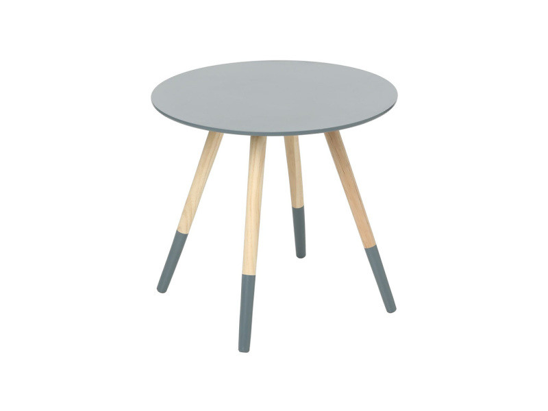 Table basse bois gris fonce - Table basse industrielle conforama ...