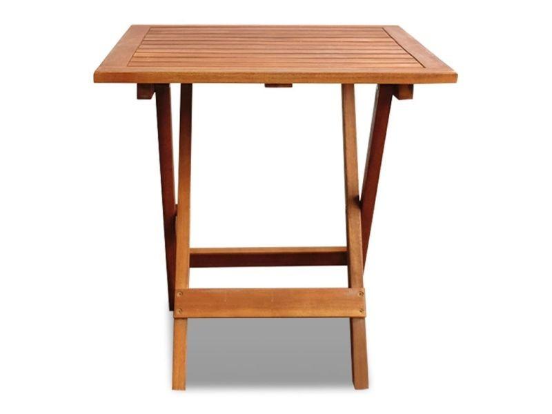 Icaverne - tables d'extérieur collection table basse d'extérieur bois d'acacia