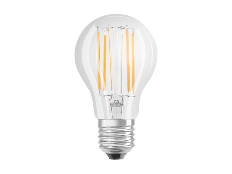 Ampoule osram led à filament | culot e27 | forme standard | blanc froid 4000k |
