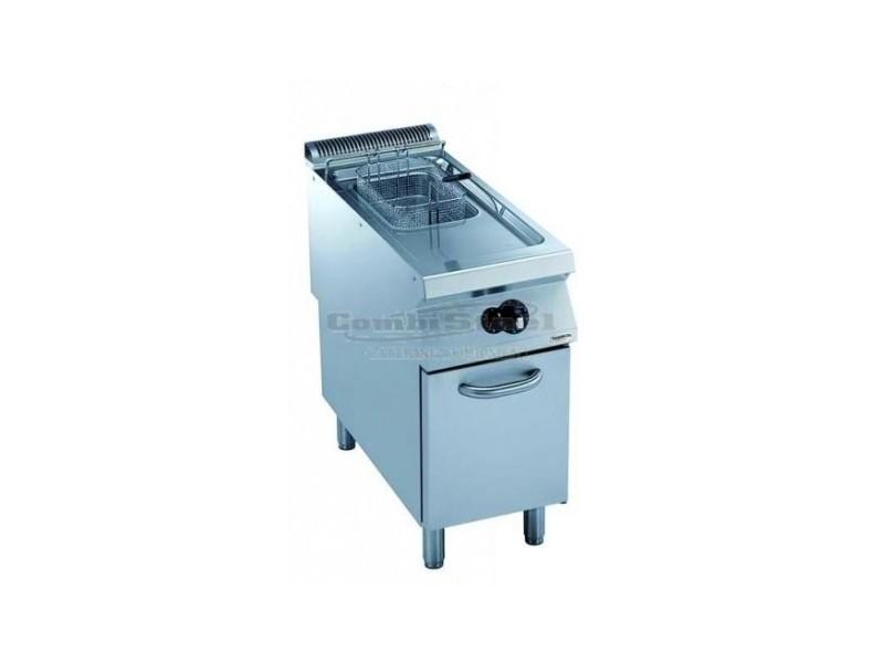 Friteuse à gaz 900 mm sur coffre - 15 litres - 28 kw - combisteel -
